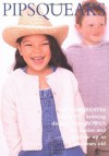 Pipsqueaks: Thirty-five Knitting Designs for Babies and Children up to Ten Years Old - Kim Hargreaves