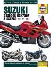 Suzuki GSX600, GSX750F & 98-02 - Matthew Coombs