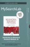 NEW MyPsychLab with Pearson eText -- Standalone Access Card -- for Introduction to Behavioral Research Methods - Mark R. Leary