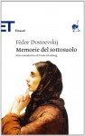 Memorie del sottosuolo - Fyodor Dostoyevsky, Leone Ginzburg, Alfredo Polledro