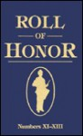 Roll of Honor Nos. XI-XIII - The United States Government