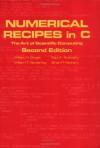 Numerical Recipes in C - William H. Press, Saul A. Teukolsky, William T. Vetterling, Brian P. Flannery
