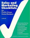 Sales and Marketing Checklist for Profit-Driven Home Builders - Jan Mitchell, Craftsman
