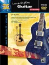 Learn To Play Guitar (Book & DVD) (Alfred's Max) - Ron Manus