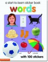 Start to Learn Words Sticker Book - Chez Picthall