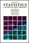 Statistics: A Guide to the Unknown - Judith M. Tanur
