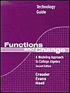 Functions And Change: Graphing Technology Excel Guide - Bruce Crauder, Benny Evans, Alan Noell