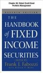 The Handbook of Fixed Income Securities, Chapter 46 - Global Credit Bond Portfolio Management Credit Bond Portfolio Management - Frank J. Fabozzi