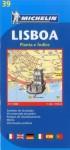 Michelin Map Lisboa #39 - Michelin Travel Publications