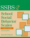 School Social Behavior Scales User's Guide - Kenneth W. Merrell