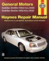 General Motors Cadillac DeVille (1994 thru 2002) Cadillac Seville (1992 thru 2002) - Ken Freund, Ken Freund