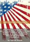 Proposals touching the accomplishment of prophecies humbly offered by Samuel Sewall M.A. and sometime Fellow of Harvard College at Cambridge in... [Eight lines of quotations] - Samuel Sewall, Eternity Ebooks
