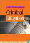 Criminal Litigation & Procedure - Tyrer Jane, David Lawson, Tyrer Jane
