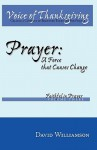 Prayer: A Force That Causes Change - David Williamson