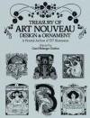 Treasury of Art Nouveau Design & Ornament - Carol Belanger Grafton
