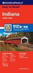 Rand Mcnally Easy to Read Indiana - Rand McNally