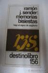 Memorias Bisiestas: Bajo el Signo de Sagitario - Ramón J. Sender