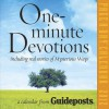 One-Minute Devotions Page-A-Day Calendar: Including Real Stories of Mysterious Ways - Guideposts Books