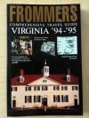 Frommer's Comprehensive Travel Guide: Virginia '94-'95 - Rena Bulkin, Gloria S. McDarrah, Fred W. McDarrah