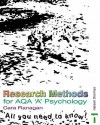 Research Methods For Aqa 'A' Psychology: All You Need To Know! - Cara Flanagan