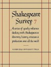 Shakespeare Survey 7: Style and Language - Allardyce Nicoll