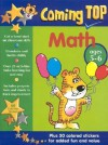 Coming Top Math: Ages 5-6 [With Stickers] - Jill Jones