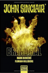 Brandmal: Ein John Sinclair Roman (John Sinclair Romane, Band 1) - Mark Benecke, Florian Hilleberg