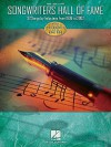 Songwriters Hall of Fame: 32 Songs by Inductees from 1996 to 2002 - Hal Leonard Publishing Company