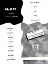 Sonata (for Trombone and Piano): Part(s) - George McKay
