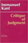 Critique of Judgment - Immanuel Kant, Werner S. Pluhar