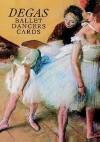 Six Degas Ballet Dancers Cards - Edgar Degas