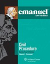Emanuel Law Outlines: Civil Procedure, 24th Edition - Steven L. Emanuel