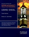 Selected Chapters from Spreadsheet Tools for Engineers: Using Excel - Byron S. Gottfried