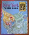Highlights Which Way USA? New York Puzzle Book - Andrew Gutelle