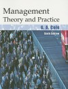 Management Theory and Practice - Gerald A. Cole