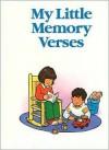 My Little Bible Series: My Little Memory Verses - Stephanie Britt