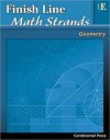 Geometry Workbook: Finish Line Math Strands: Geometry, Level E - 5th Grade - continental press