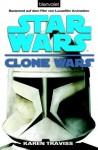 Clone Wars (Star Wars Clone Wars, #1) - Karen Traviss, Peter Bondy