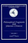 Philosophical Fragments and Johannes Climacus - Robert L. Perkins