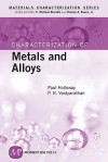 Characterization of Metals and Alloys - Paul H. Holloway, C. Richard Brundle, Charles A. Evans Jr., P.N. Vaidyanathan