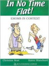 In No Time Flat!: Idioms in Context - Christine Root, Karen Blanchard