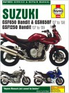Suzuki GSF650/1250 Bandit and GSX650Fservice and Repair Manual: 2007 to 2009 (Haynes Service and Repair Manuals) - Phil Mather
