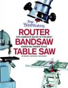 Table Saw, Band Saw and Router: Fine Woodworking's Complete Guide to the most Essential Power Tools - Pat Warner, Kelly Mehler, Lonnie Bird