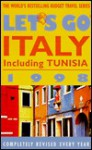 Let's Go Italy 1998 - Let's Go Inc., Clint D. Thacker, Matthew J. Bester