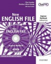 New English File: Workbook Without Key And Multi Rom Pack Beginner Level: Six Level General English Course For Adults - Clive Oxenden, Christina Latham-Koenig, Jane Hudson