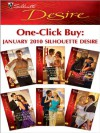 One-Click Buy: January 2010 Silhouette Desire: From Playboy to Papa!Bossman's Baby ScandalTempting the Texas TycoonAffair with the Rebel HeiressThe ... Pregnancy ProposalClaiming His Bought Bride - Leanne Banks, Catherine Mann, Sara Orwig, Emily McKay, Sandra Hyatt, Rachel Bailey