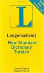 New Standard Turkish Dictionary (Langenscheidt Compact Dictionaries) - Langenscheidt