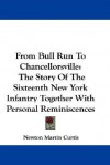 From Bull Run to Chancellorsville: The Story of the Sixteenth New York Infantry Together with Personal Reminiscences - Newton Martin Curtis