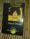 Tres relatos criminales - Marcel Proust
