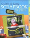 Quick & Easy Scrapbook Styles - Memory Makers Books